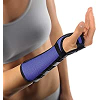Bort Arm- und Handgelenkstütze Alu Schiene Handgelenk Unterarm Bandage, blau, S, Rechts preisvergleich bei billige-tabletten.eu