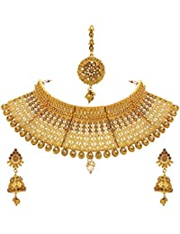 3be827cf7e476 Sukkhi Gold Plated Jewellery Set for Women (N73395)