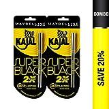 Maybelline New York Colossal Kajal, Super Black (Pack of 2)