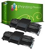 Printing Pleasure 2 Toner kompatibel für Samsung ML-1610 ML-1610P ML-1615 ML-1650 ML-2010 ML-2010P ML-2010R ML-2015 ML-2510 ML-2570 ML-2571 ML-2571N SCX-4321 SCX-4321F SCX-4521 SCX-4521F Dell 1100 - Schwarz, hohe Kapazität