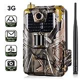 Cámara de caza 3G 2G Cámara de vigilancia de vida silvestre 16MP 1080P, cámara de juego de detección nocturna con LED IR de 940 nm, visión nocturna, pantalla LCD de 2.0 '. IP65 a prueba de agua.