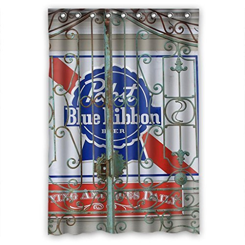pabst-blue-ribbon-durable-fabric-shower-curtain-measure-48wx72h-by-shower-curtain