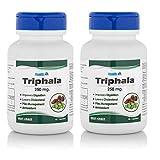 Healthvit Triphala Powder 250 mg Supplements (60 Capsules) - Pack Of 2