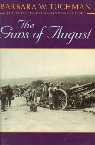 Book cover for The Guns of August