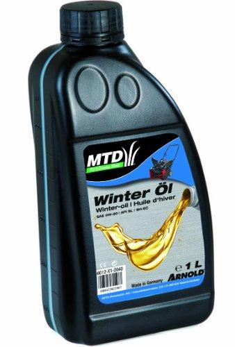 Arnold 6012-X1-0040 Original MTD 4-Takt Winter-Mehrbereichsöl, SAE 5W-30, 1 Liter