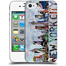 Oficial ArtPopTart Nueva York Viaje Caso de Gel Suave para Apple iPhone 4 / 4S