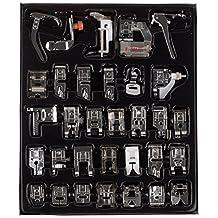 Kit de pies prensatela profesionales para máquina de coser, para máquinas Brother, Singer y