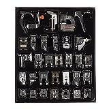Professional 32PC domestico macchina da cucire piedino piedi kit set con scatola per Brother Singer Janome bianco macchine da cucire