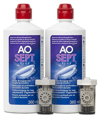 Aosept Plus Kontaktlinsen-Pflegemittel, Vorratspackung, 2 x 360 ml - 3