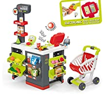 Smoby- Super Market, Multicolore, 7600350213