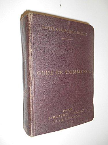 Code de commerce 1936 / Dalloz / Réf34437 par Dalloz