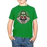 NERDO - Mexican Luigi - Kinder T-Shirt, Größe L, grün