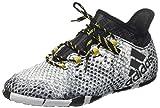 adidas Herren X 16.1 Court Fußballschuhe, Grau (Ftwr White/Core Black/Gold Met.), 44 EU