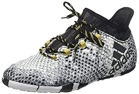 adidas Herren X 16.1 Court Fußballschuhe, Grau (Ftwr White/Core Black/Gold