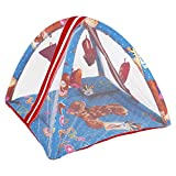 #4: BabyShower Kids Bedding Set with Mosquito Net, Hanging Toys & Pillow for Baby - Blue
