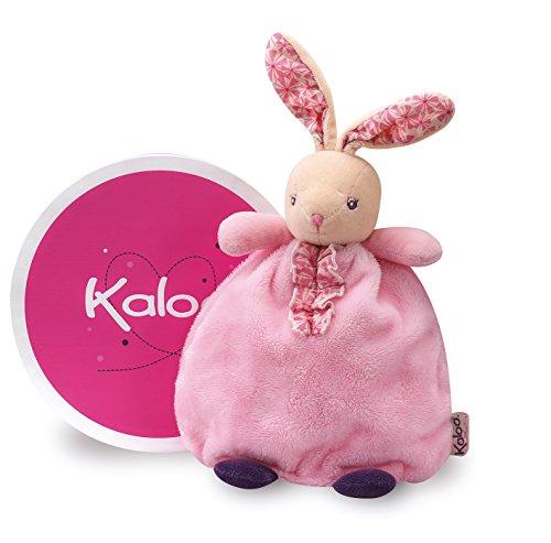 Kaloo - Colección Rosita, Pañuelo tipo títere modelo conejito de peluche niña, 20 cm (Juratoys K969867)