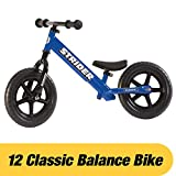 Laufrad Vergleich Strider - 12 Classic Balance Bike, von 18 Monaten bis zu 3 Jahren, blau bei Amazon