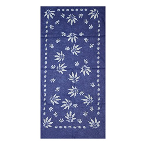 Spark Blue Skull Flower 13 in 1 Multipurpose, Multifunctional Unisex stylish Free size Headwarp Bandana Cap Face Mask for cycling/Bikers Racer made from Polyster Cotton Lycra protect from Dust, Sunlight and wind  available at amazon for Rs.99