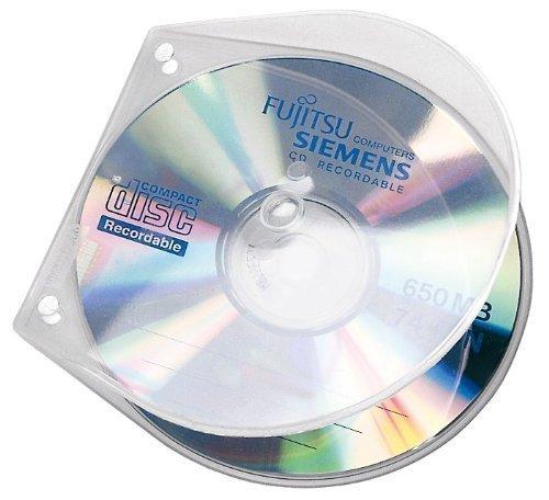 Veloflex 4365000 CD/DVD Hüllen