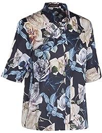 JACQUES BRITT Damen Bluse Brown Label 1/2-Arm Bügelleicht City-Bluse Ohne Manschette