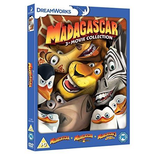 Madagascar 1-3 (3 Dvd) [Edizione: Regno Unito] [Reino Unido] 6