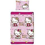 Hello Kitty Folk Duvet Cover Set, Single