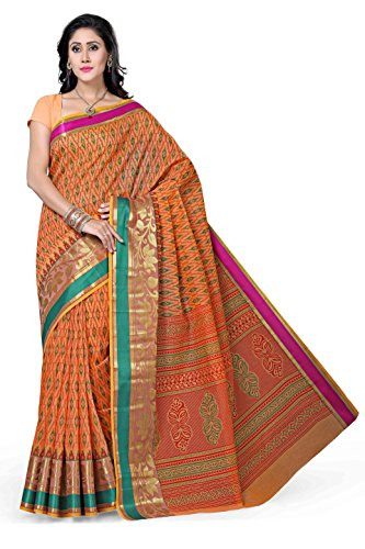 Rani Saahiba Cotton Saree (Skr1086_Orange)