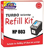 #10: TURBO Ink Cartridge Refill Kit for HP 803 (Black)