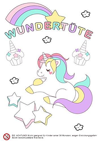 4 x Super Wundertüte für Mädchen für die Schultüte, Geburtstagsparty, Mitbringsel, Give Away,...