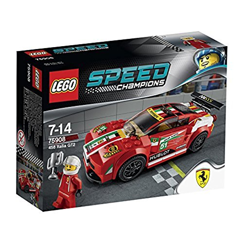 LEGO Speed Champions - Set 458 Italia GT2, multicolor (75908)