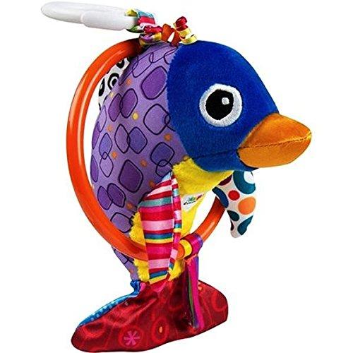 Lamaze Baby Spielzeug Dan, der flippige Delfin Clip & Go   Hochwertiges Kleinkindspielzeug   Greifling stärkt Eltern-Kind-Bindung   Ab 0 Monate