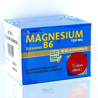 Arkopharma Magnesium B6 2x60capsules