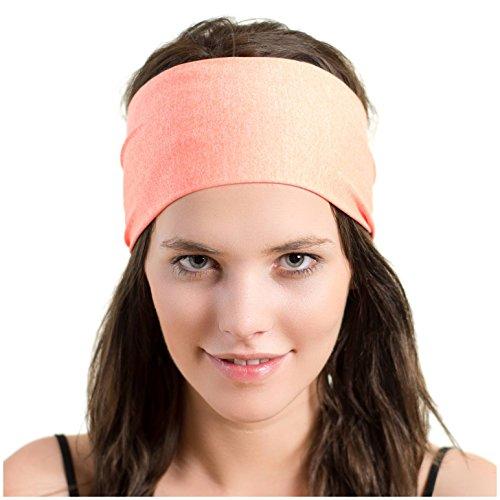 Diadema deportiva ligera - Banda elástica absorbente - ideal para correr, ciclismo y ejercicios de alto rendimiento - Diseñado para mujeres y tomadas prestadas por hombres