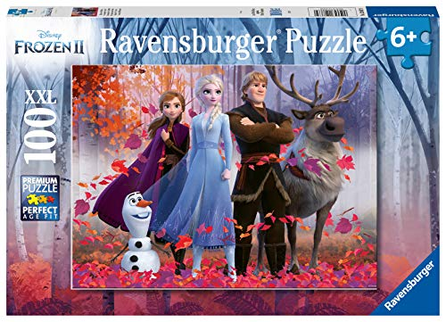 Ravensburger- Puzzle 100 pièces XXL La Reine des Neiges 2 Enfant, 4005556128679