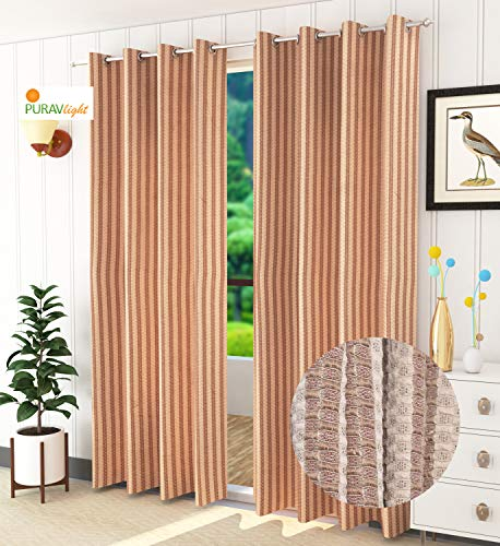 check MRP of door curtains 8 feet Purav Light