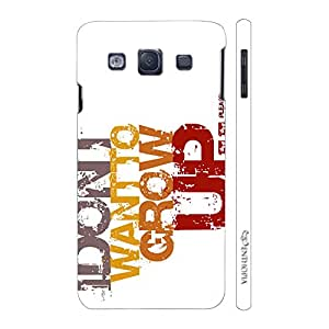 Enthopia Designer Hardshell Case DON'T WANT TO GROW UP Back Cover for Samsung Galaxy S3 Neo