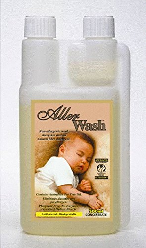 Woolskin Woolwash & Shampoo for Sheepskin, Lambskin, Shearling, Fleece &