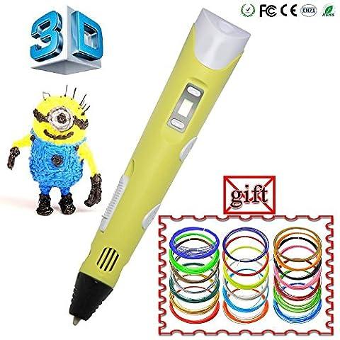 WER Second Generation Freehand 3d Pen Drawing Doodling Pen 3D