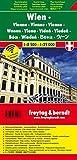 Wien, Stadtplan, 1:8.500 - 1:25.000, Touristenplan, freytag berndt Stadtpläne - Freytag-Berndt und Artaria KG