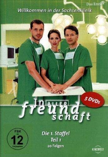 In aller Freundschaft - Die 01. Staffel, Teil 1, 20 Folgen [5 DVDs] hier kaufen