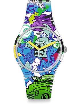 Swatch Damen-Armbanduhr SUOW133