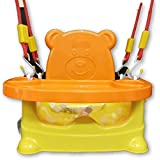 Smilecasters Honeybee 5 in 1 Swing Baby Chair/Car Seat, Buster Sheet (Orange, Yellow)