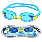 Kids Swimming Goggles,COPOZZ Swim Goggles for Children Junior Boys Girls - Age 4