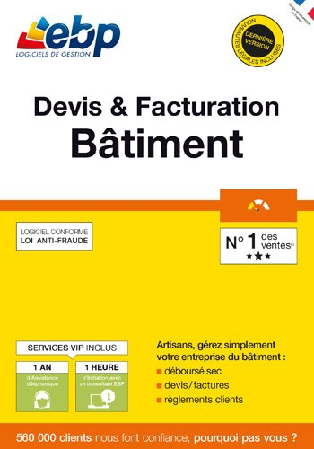 EBP Devis & Facturation Bâtiment OL + VIP - 2018 [PC Download]