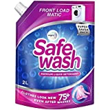 Safewash Matic Front Load Liquid Detergent by Wipro, 2L