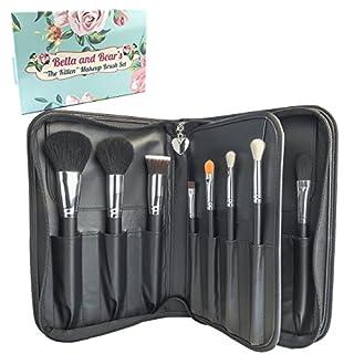 Makeup Pinsel Set von Bella and Bear. Ein professionelles hochwertiges 15-teiliges Make-up-Pinsel-Set mit Case zum Schutz Ihrer Pinsel.s