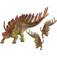LU2000 Simulación sólida Dinosaurio modelo Kentrosaurus plástico animales juguetes Dinosaur Colección decoración ...