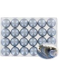 Boîte de 24 perles d'huile de bain - Marine nacré