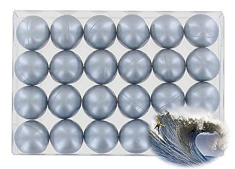 Box of 24 oil bath pearls - pearly marine