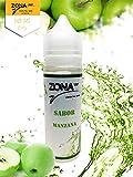 50ml liquide Pomme vaper e-liquide Pour les cigarettes électroniques 60VG / 40PG...